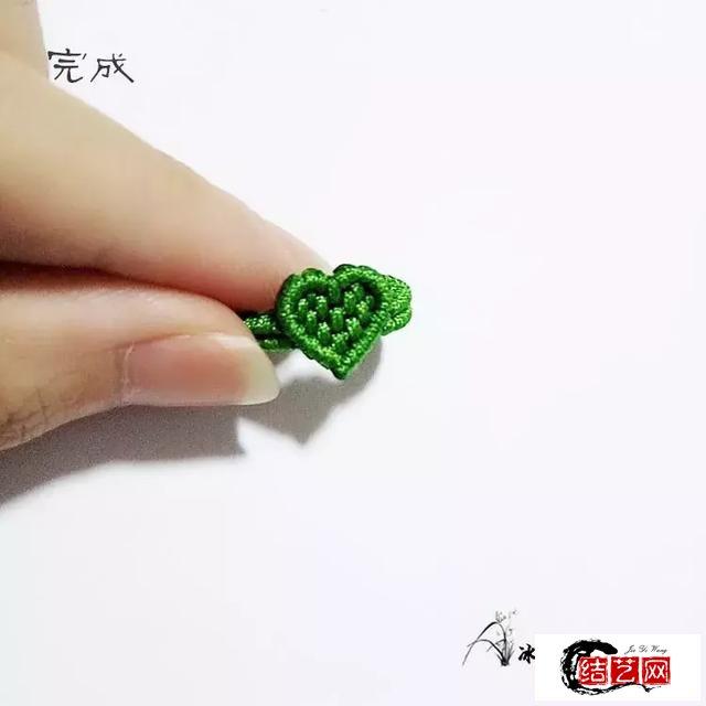编一枚爱心戒指,萌翻你的少女心!