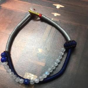 月光石编织教程图解,简单好看的编绳手链方法