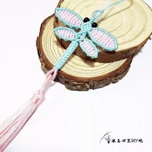 编绳蜻蜓图解教程,教你如何用红绳子编蜻蜓