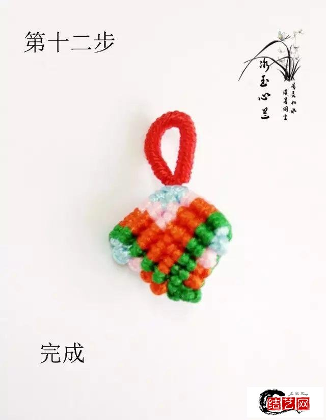 教你亲手编织一款端午节祈福小粽子,祝愿身边的人平安喜乐