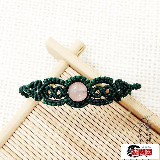 单珠手链编法图解,教你如何编织手链