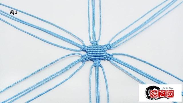编绳笔芯袋教程
