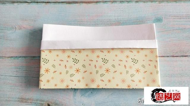 无限延长的收纳袋折纸,简单实用还好看,快来试试