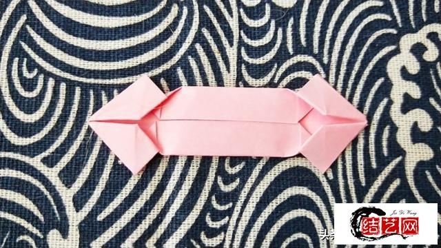 唯美双层樱花折纸教程,简单好看惹人爱!