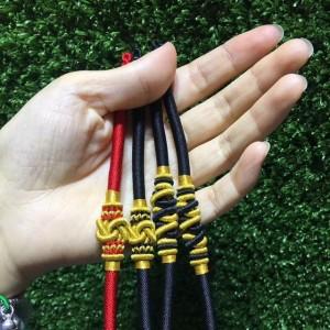 同心结手链编织教程,简单好看的 diy手工做法步骤