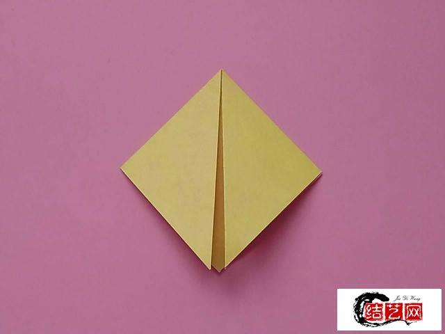 非常漂亮的彩色花朵折纸,简单几步就做好,儿童益智手工折纸教程