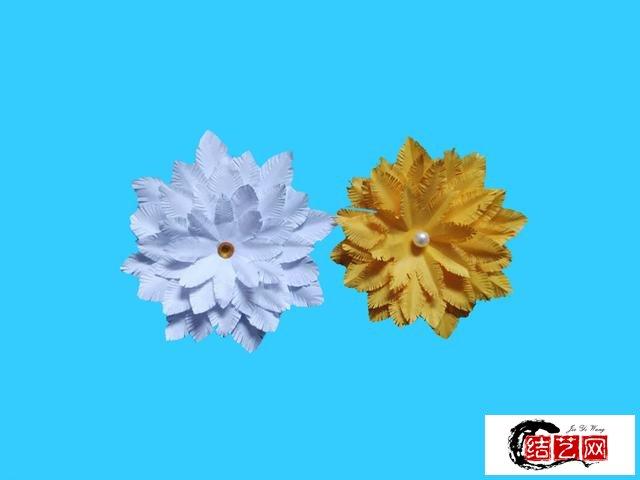 教你制作漂亮的花朵折纸,简单几步就做好,手工DIY折纸图解教程