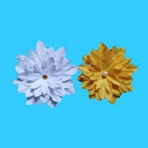 2种简单易学花朵折纸的教程图解,教你如何手工DIY折纸花步骤
