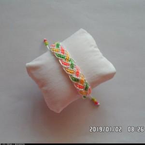 儿童手绳的编织方法_简单DIY彩色手绳编法教程