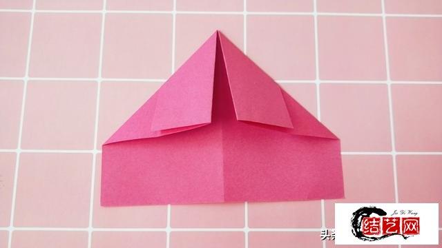 520要到了,好看的爱心包包折纸学起来