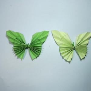 蝴蝶折纸详细步骤图解教程,教你简单好看的儿童叠蝴蝶做法