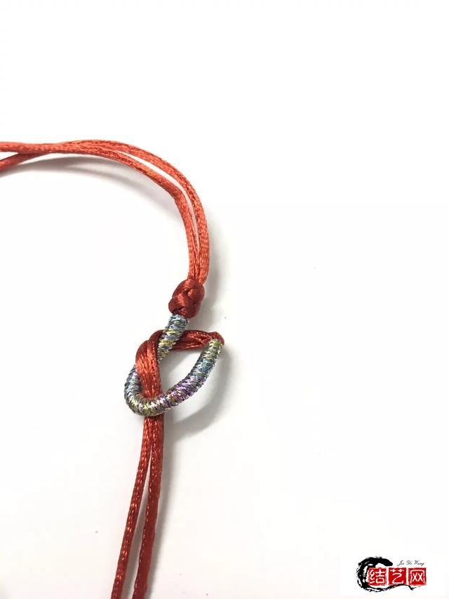 南红路路通绕线红手绳
