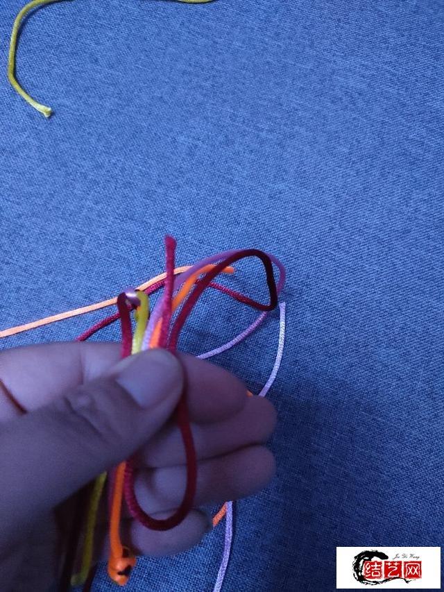 端午节快到了学编简单手绳