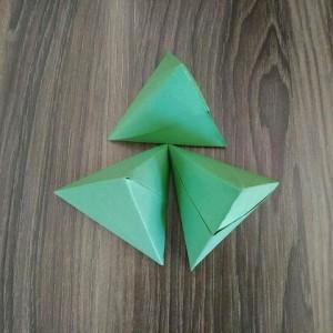 折纸粽子的折法步骤图解,端午节手工制作立体粽子做法