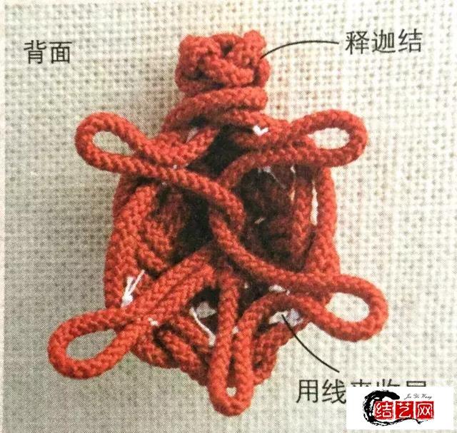 【编织技巧】| 超简单的乌龟结吉祥物编织,学会送给你的心上人!
