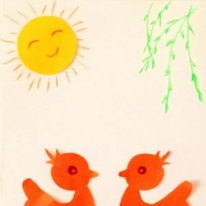 简单可爱小鸭子剪纸步骤教程图解