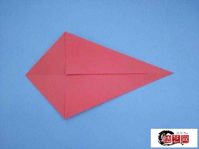 折纸:小河虾步骤详解,做法简单一学就会,儿童益智手工折纸教程