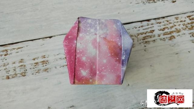 星空孔明灯折纸教程,八月的第一天许个愿吧