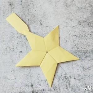 致敬英雄手工折纸作品,折纸勋章折法教程