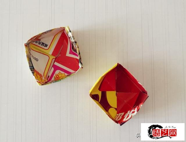 幼儿园亲子手工,卡纸做基本款小盒子,可以当礼品盒,有教程