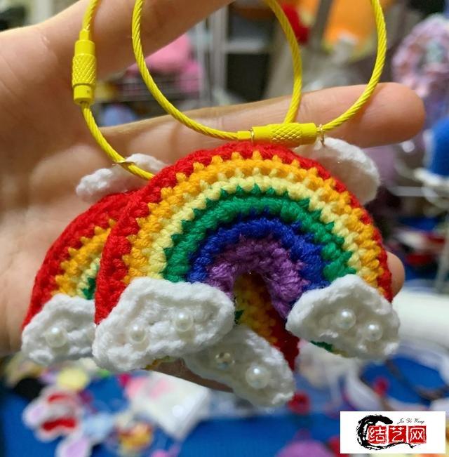 遇见彩虹——治愈毛线彩虹编织