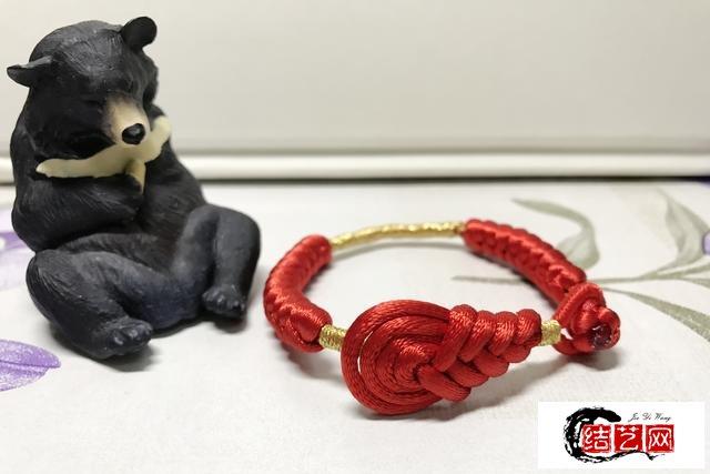 琵琶语·金刚结绕线手绳