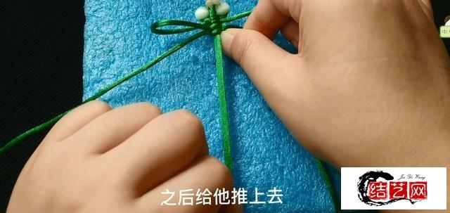 平结版小蜻蜓,一根绳两颗珠子,就能做的简易版蜻蜓